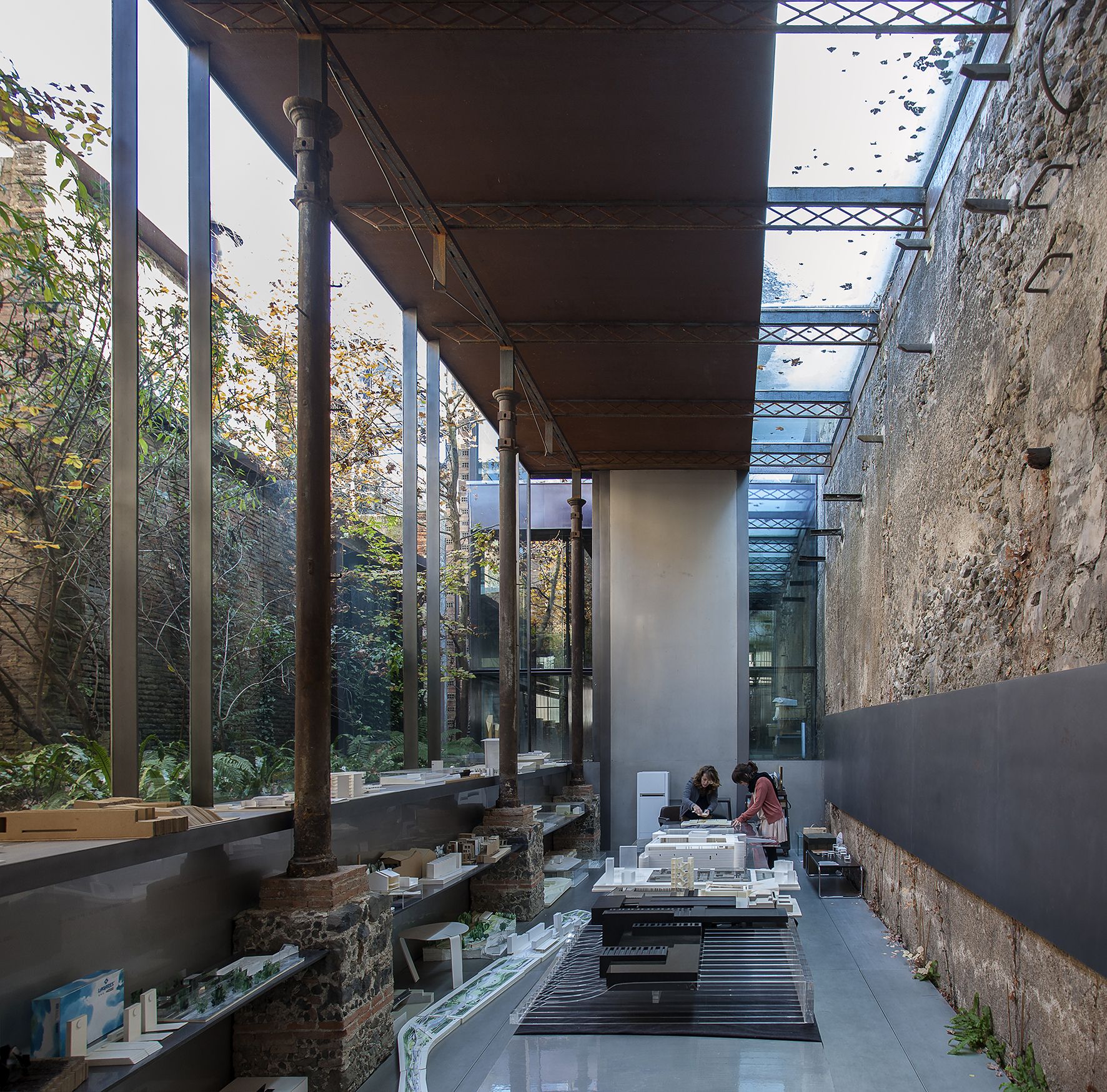 Espai Barbieri, RCR Architects Studio. ©Hisao Suzuki