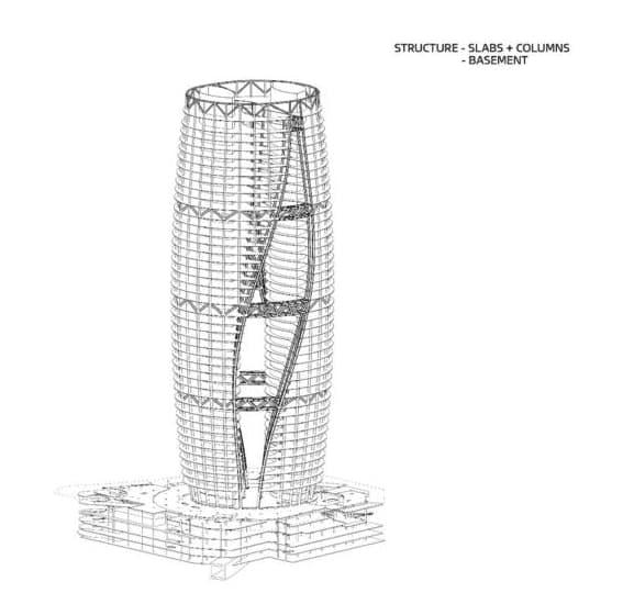 Leeza-Soho-estructura-torre